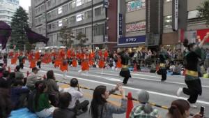 「第16回 東京よさこい」~10月10日:前夜祭:アゼリア通り(上)~(3)27