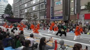 「第16回 東京よさこい」~10月10日:前夜祭:アゼリア通り(上)~(3)1