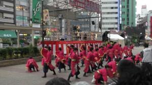 「第16回 東京よさこい」~10月10日:前夜祭:池袋西口駅前広場~(5)2