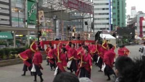 「第16回 東京よさこい」~10月10日:前夜祭:池袋西口駅前広場~(5)3