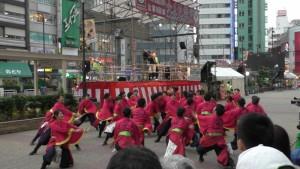 「第16回 東京よさこい」~10月10日:前夜祭:池袋西口駅前広場~(5)4