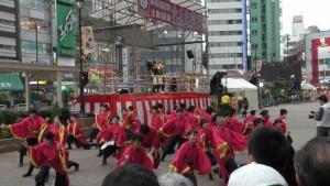 「第16回 東京よさこい」~10月10日:前夜祭:池袋西口駅前広場~(5)5