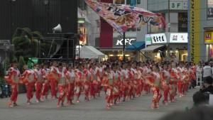 「第16回 東京よさこい」~10月10日:前夜祭:池袋西口駅前広場~(5)6