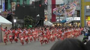 「第16回 東京よさこい」~10月10日:前夜祭:池袋西口駅前広場~(5)7
