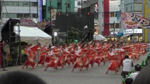 「第16回 東京よさこい」~10月10日:前夜祭:池袋西口駅前広場~(5)8