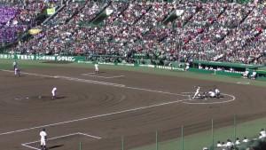 センバツ2016を見に行ったぞ!~釜石 VS 小豆島(下)~(11)9