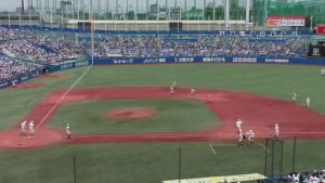 西東京大会「早稲田実業 − 八王子」5