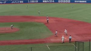 西東京大会「早稲田実業 − 八王子」10