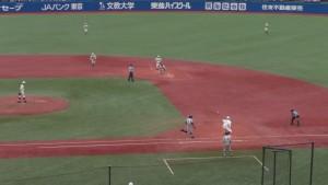 西東京大会「早稲田実業 − 八王子」12