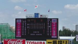 東東京大会「関東一 − 修徳」12