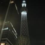 東京スカイツリーのイルミネーション