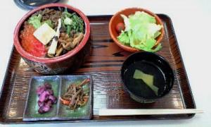 山菜ときのこ丼