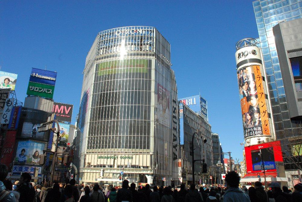 渋谷を散策