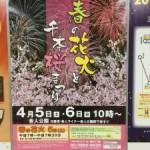 今年こそリベンジ!? 春の花火を見に行ってきました!