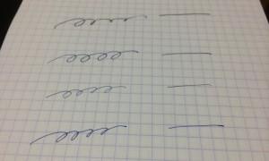 万年筆のインク