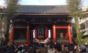 東京に戻ってきて、ある意味恒例の東京での初詣に行ってきました